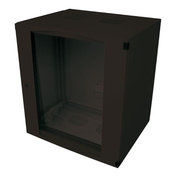 coffret mural 19 pouces 15 u logilink 11114620. Black Bedroom Furniture Sets. Home Design Ideas