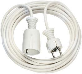 brennenstuhl Rallonge électrique, plastique, blanc, 5 m
