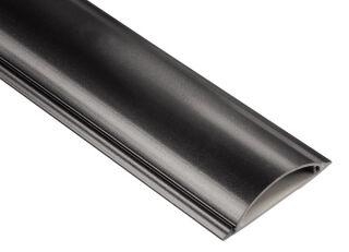 hama Cache-câble, semi-rond, autocollant, longueur: 1,0 m