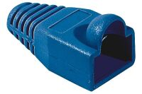 Manchon RJ45 bleu snagless diamètre 6,5 mm (sachet de 10 pcs)