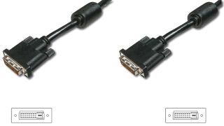 DIGITUS câble DVI-D 24+1, Premium, Dual Link, 2 m