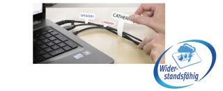 AVERY Zweckform étiquettes pour câble, 60 x 40 mm, blanc,