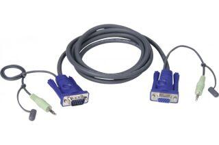 Aten 2L-2402A cordon combine vga+audio