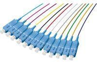 PIGTAIL OS2 SC/UPC LSOH 12 CONNECTEURS- 2m