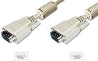 DIGITUS câble XGA pour moniteur, mâle - mâle, 3,0 m