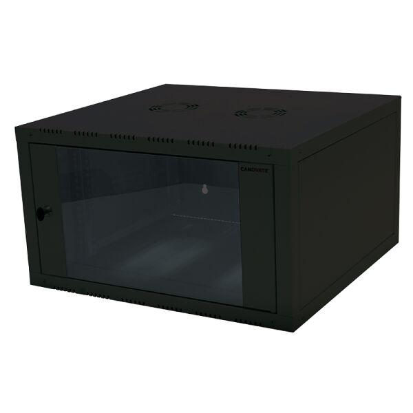 baie de brassage 19 pouces 6 u logilink 11114553. Black Bedroom Furniture Sets. Home Design Ideas