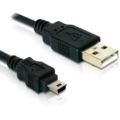 Câble USB 2.0 A mini USB 5points 1.5m