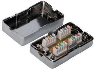 Boitier de raccordement, CAT 6, pour câbles torsadés