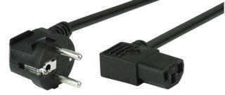 shiverpeaks BASIC-S Câble d'alimentation, coudé, 1,8m
