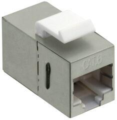 LogiLink Connecteur keystone Cat.6, Classe E, blindé