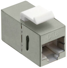 LogiLink Connecteur keystone Cat.6, Classe E, blindé