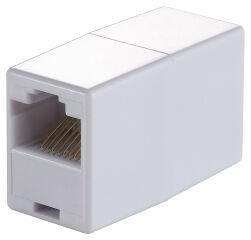 LogiLink Adaptateur Modular-In-Line RJ45, couleur: beige