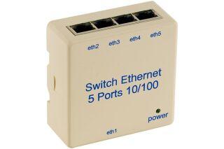 Switch VDI 5 Ports10/100 pour rail DIN