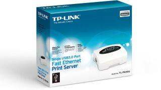 Serveur d'impression Fast Ethernet avec un seul port USB 2.0