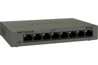 Switch Netgear GS308 8 ports gigabit en métal