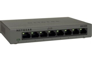 Switch Netgear GS308 8 ports gigabit en métal