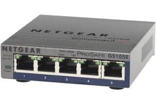 Switch Netgear GS105E 5 ports gigabit manageable