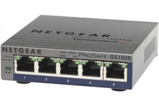 Switch Netgear GS105E 5 ports gigabit manageable