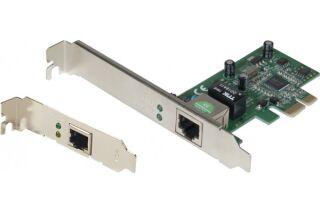 NETIS AD1103 Carte réseau PCI-Express Gigabit + Low Profile
