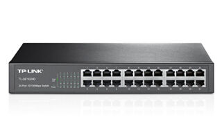 Switch TP Link TL-SF1024D 24 ports 10/100 - Rackable 13""