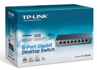 Switch TP-Link TL-SG108 8 ports Gigabit