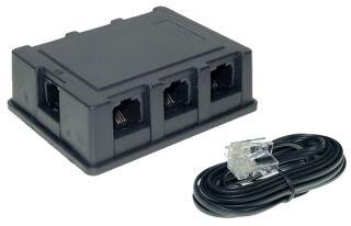 shiverpeaks BASIC-S Répartiteur RNIS, 6 ports