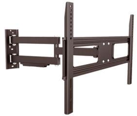 shiverpeaks BASIC-S Support mural pour écran plat, noir