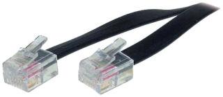 shiverpeaks BASIC-S Câble modulaire, RJ11-RJ11 mâle, 6,0 m