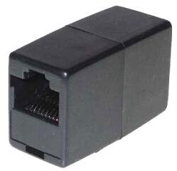 shiverpeaks BASIC-S Adaptateur modulaire-IN-line, RJ45, noir
