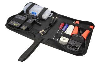 LogiLink Kit d'outils pour réseau, 55 pièces