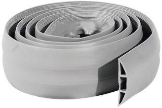 Passage plancher de 3 câbles gris- 1,80m