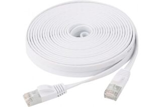 Cordon patch RJ45 u/ftp CAT6 plat- 1 m