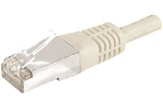 CORDON PATCH RJ45 F/UTP CAT 6a Gris - 30 m