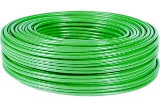 Câble multibrin F/UTP CAT6A LS0H vert - 100 m