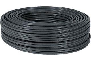 Câble multibrin F/UTP CAT6A LS0H noir - 100 m