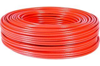 Câble multibrin F/UTP CAT6A LS0H rouge - 100 m