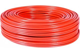 Cable multibrin f/utp CAT6A LS0H rouge - 100M