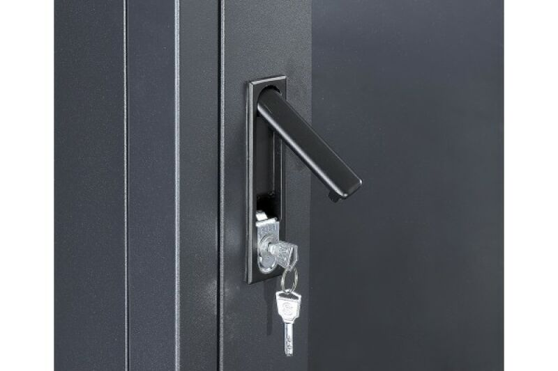 baie de brassage 42u 600 x 800 noir achat vente m d c. Black Bedroom Furniture Sets. Home Design Ideas