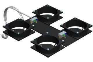 Kit 4 ventilateurs pour baie
