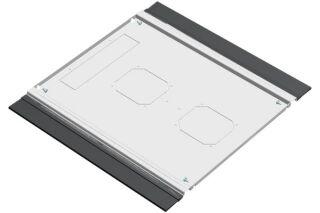 EFIRACK Plaque de fond avec balai passe cables 800X1000