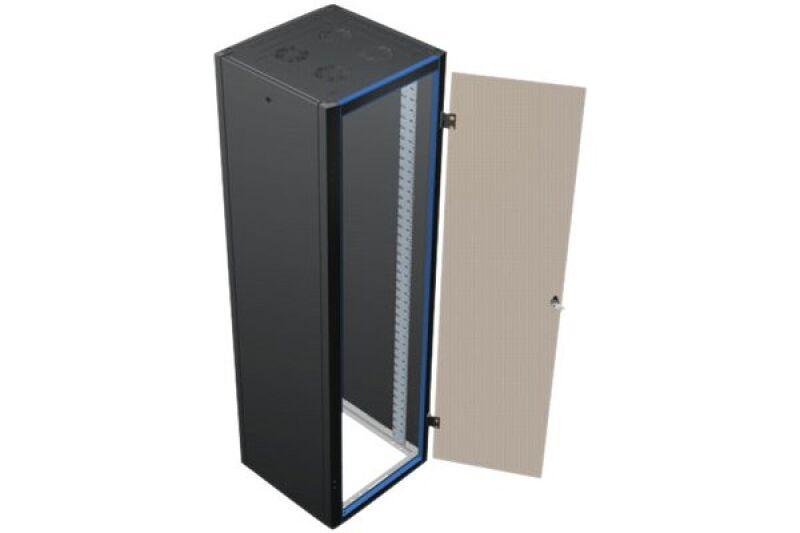 efirack baie de brassage 24u 600 x 1000 gris titane. Black Bedroom Furniture Sets. Home Design Ideas