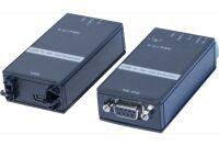 Convertisseur-Extendeur USB-RS232 full duplex sur CAT5 1200m