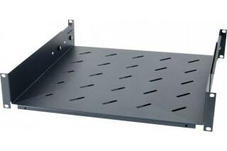 Etagère fixe universelle pour baie prof 750 / 900 mm noir