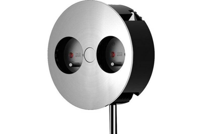 bachmann multiprise encastrable twist 2 prises achat vente bachmann 944032. Black Bedroom Furniture Sets. Home Design Ideas