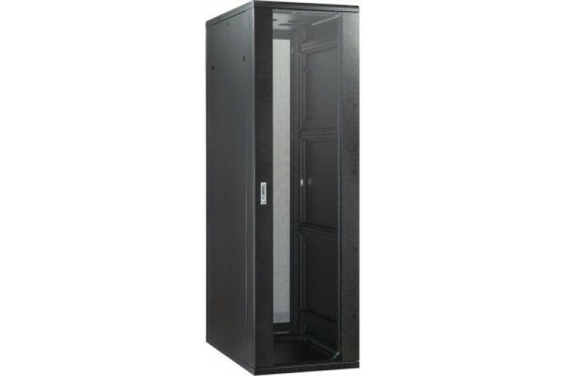 baie de brassage 22u 600 x 800 noir achat vente m d c. Black Bedroom Furniture Sets. Home Design Ideas