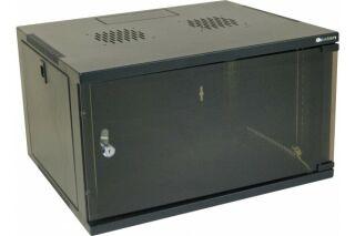 "Coffret eco 19"" 6U noir prof 450 mm"