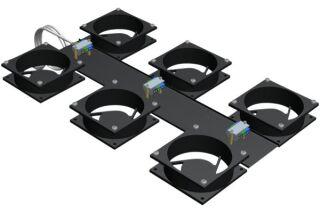 Kit 6 ventilateurs pour baie