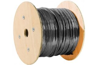 Cable monobrin F/UTP CAT6A exterieur - 305M