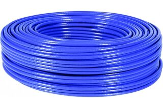 Câble multibrin F/UTP CAT6A LS0H bleu - 100 m
