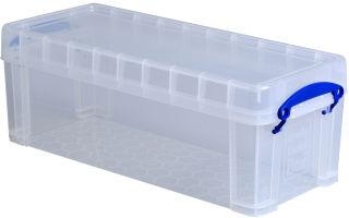 Really Useful Box Boîte de rangement 6,5 litres, incolore
